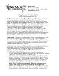 Fall 2009 - Northeast Aquatic Nuisance Species Panel