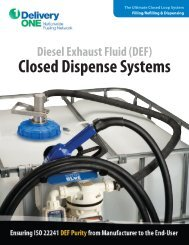 (DEF) Closed Dispense Systems - Micro Matic USA