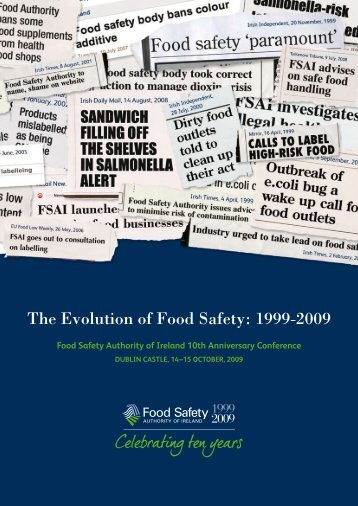 Food Safety Authorit.. - Inocuidade de Alimentos