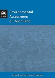 Environmental Assessment of Ogoniland - Disasters and Conflicts ...
