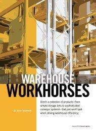 Inbound Logistics | Warehouse Workhorses | Digital Edition