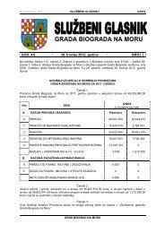 Službeni glasnik Grada Biograda na Moru - broj 3/12 - Grad Biograd ...