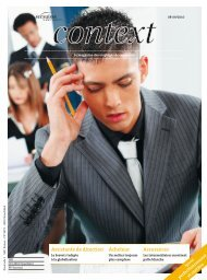 Context N° 8-9 2010 - Assistant/e de direction (PDF ... - Sec Suisse