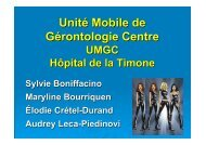 UMGC-réunion urgences-Décembre 2010 - SMUR BMPM