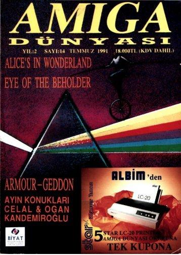 Amiga Dunyasi - Sayi 14 (Temmuz 1991).pdf - Retro Dergi