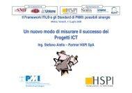 Un nuovo modo di misurare il successo dei Progetti ICT - PMI-NIC