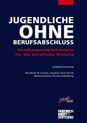 """Gutachten """"Jugendliche ohne Berufsabschluss ... - BiBB"""