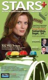 Saturday, Sept. 242011 - ACTRA Toronto