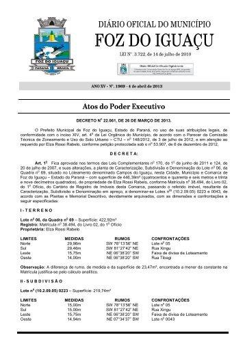 Edição Nº. 1969 de 4 de abril de 2013 - Portal do Servidor Público