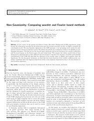 arXiv:astro-ph/0301220 v1 13 Jan 2003 - iucaa