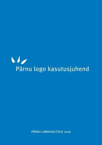 Pärnu logo kasutamise juhend