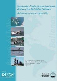 I Taller Internacional de Gestión y Uso no Letal de Cetáceos