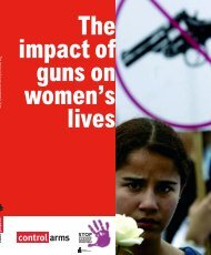 Law enforcers, guns and violence against women - Oxfam ...