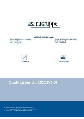 Asana Gruppe AG - Spitalinformation.ch