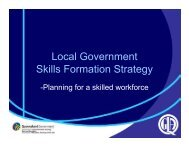 Gabrielle Dorward - Local Government Managers Australia