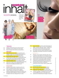 Trends report Fashion Beauty Gesundheit 180 seiten Woman.