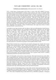 Sordiaretus ja seemnekasvatus - Eesti Maaviljeluse Instituut