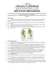 How to Pack Your Backpack - Tent & Trails