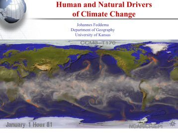 Human and Natural Drivers of Climate Change - Linda Hall Library