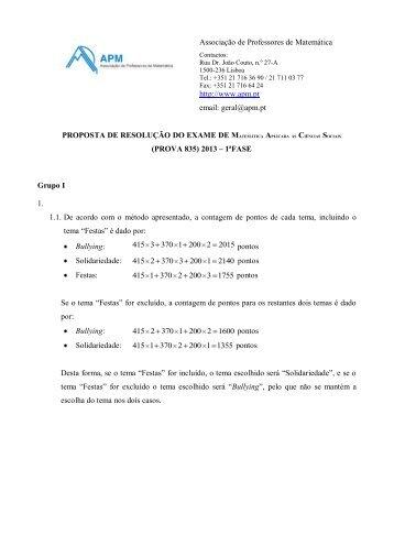 Proposta De Resolu 231 227 O Matem 225 Tica Absolutamente