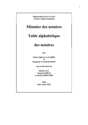Version téléchargable - Archives départementales Corrèze