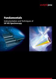 The fundamentals of UV-Vis - MEP Instruments