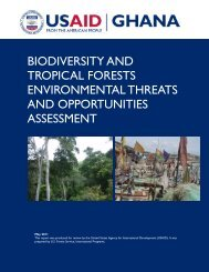 biodiversity and tropical forests environmental threats and ...