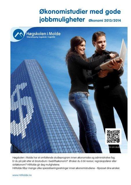 Brosjyre om økonomistudiene - Høgskolen i Molde