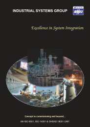 Excellence In System Integration Catalogue - BHEL - Industrial ...