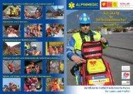 zum Flyer - Alpinmedic