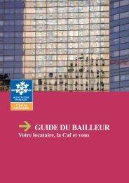 → GUIDE DU BAILLEUR - Caf.fr