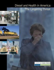 Diesel and Health in America: The Lingering Threat - Public Citizen
