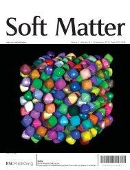 www.rsc.org/softmatter Volume 8 | Number 34 | 14 September 2012 ...