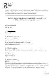 Referat fra Regionsbestyrelsesmøde den 06. juni 2012