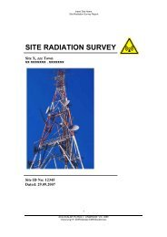 site radiation survey - ZCG Scalar