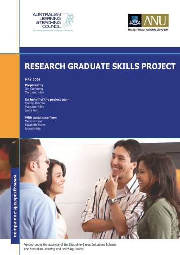 research graduate skills project - Office for Learning and Teaching