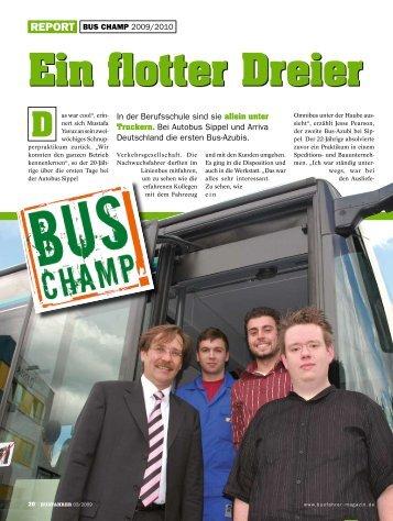Ein flotter Dreier - Werd Busfahrer