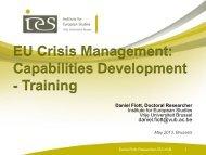 Training - Capacity4Dev