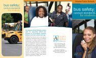 Bus Safety & Conduct Standards - Atlanta Public Schools
