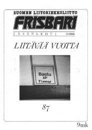 Frisbari 5/1986 - Ultimate.fi