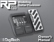 Owner's Manual - FTP Directory Listing - Digitech