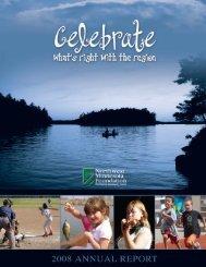 2008 Annual Report - Northwest Minnesota Foundation