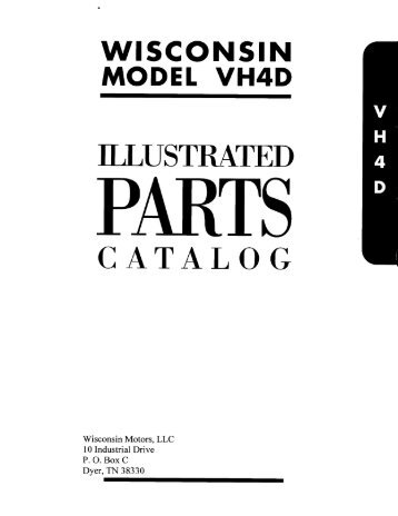 Wiring Diagram Database: Wisconsin Motor Vh4d Firing Order