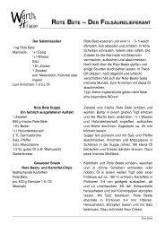 ROTE BETE – DER FOLSÄURELIEFERANT - Warths Hofladen