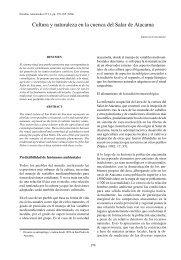 Cultura y naturaleza en la cuenca del Salar de Atacama - Estudios ...