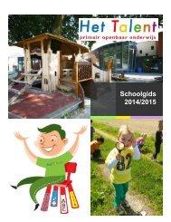 Schoolgids Het Talent 14 15
