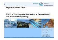 1. Vorbemerkungen - Zweckverband Bodensee-Wasserversorgung