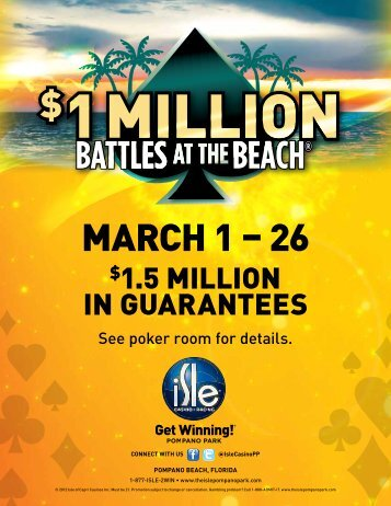 BATTLES AT THEBEACH® - Pompano Park - Isle of Capri Casinos