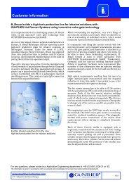 Heißkanaldüsen Typ SLT/-DLT Customer information