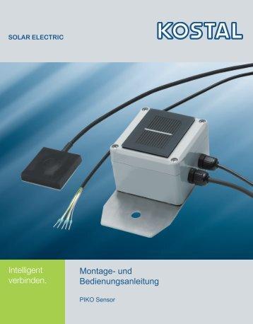 Montage- und Bedienungsanleitung PIKO Sensor - Solar-Fabrik AG